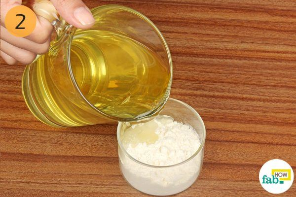 green tea and rice flour for blotchy skin
