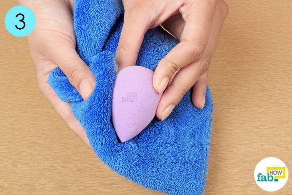 dry it with soft towel
