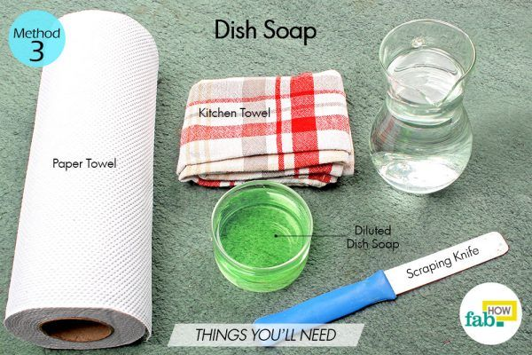 dish soap to remove vomit stains from carpet things need