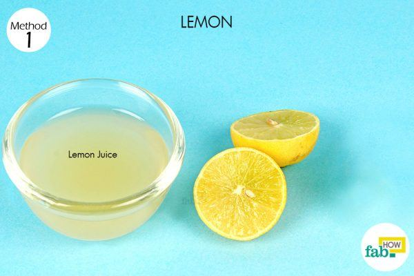 lemon for age spots things need