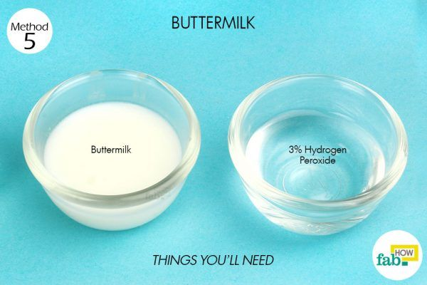 buttermilk for age spots things need