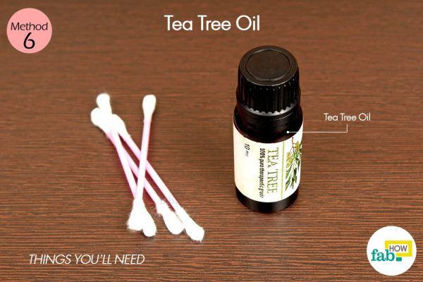 tea tree oil for cold sore things need