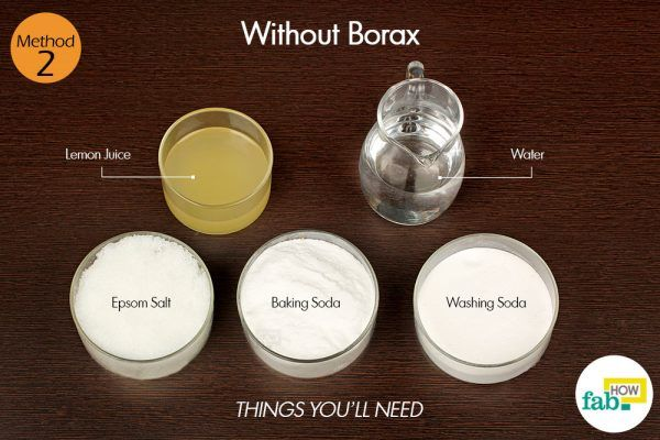 homemade dishwashing detergent without borax things need