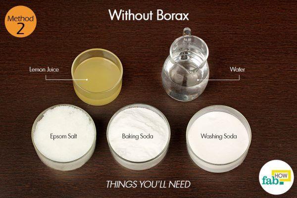 homemade dishwashing detergent without borax things need