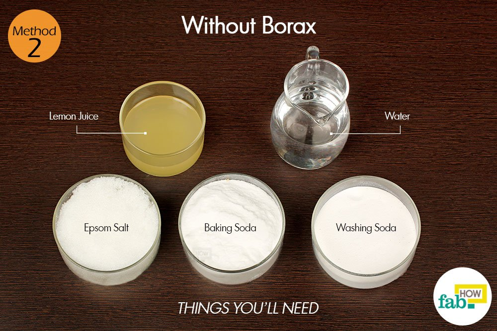 homemade dishwashing detergent without borax things need. Washing soda – 1 cup ...
