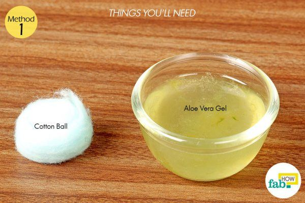 aloe vera gel for blotchy skin