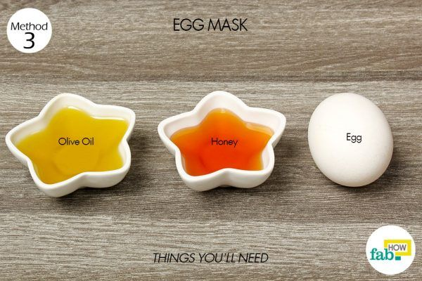 egg mask for split ends things need