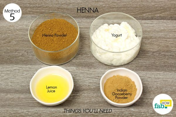 henna for split ends things need