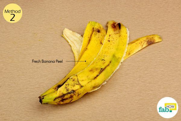 banana peel for warts things need