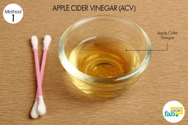 ACV for skin tags things need