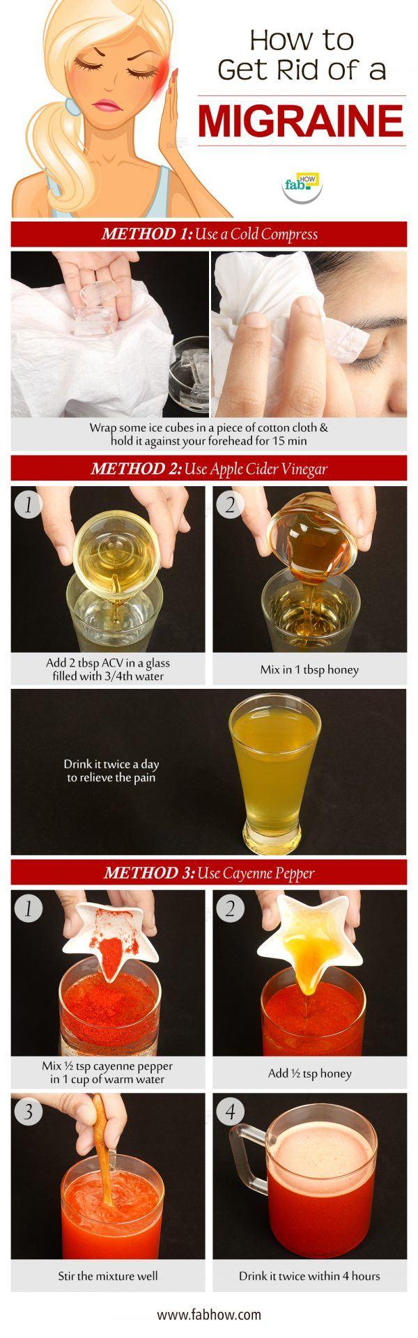 get rid of migraine