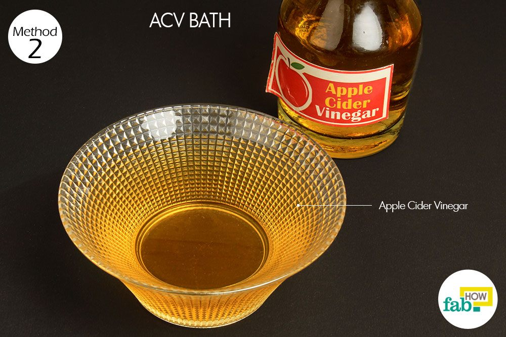 acv bath for yeast infection