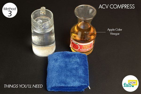 acv compress for yeast infection
