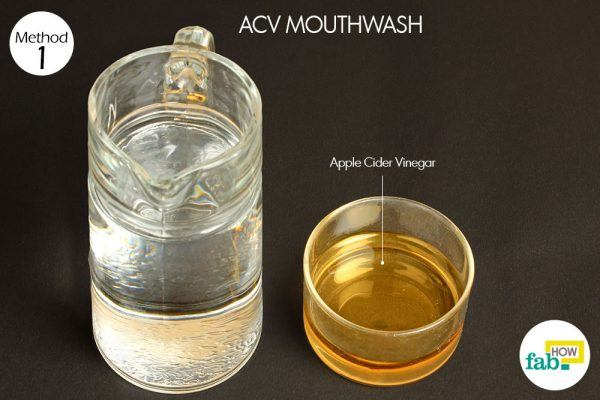 acv mouthwash for yeast infection