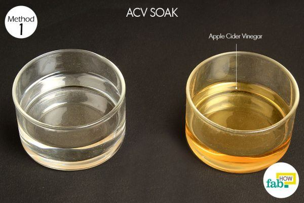 acv soak yeast infection