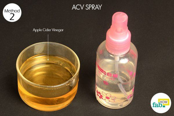 acv spray for yeast infection