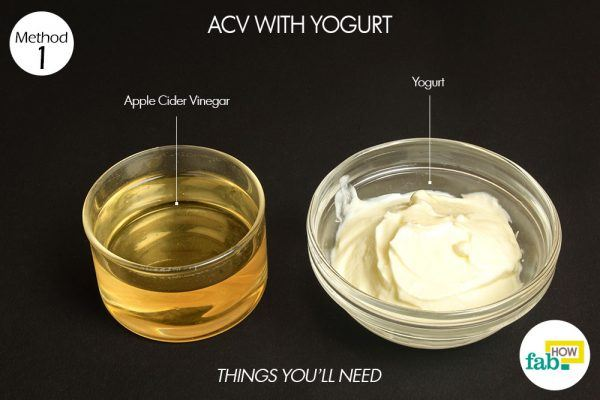 acv yogurt for yeast infection