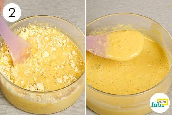 apply potato juice on blemishes