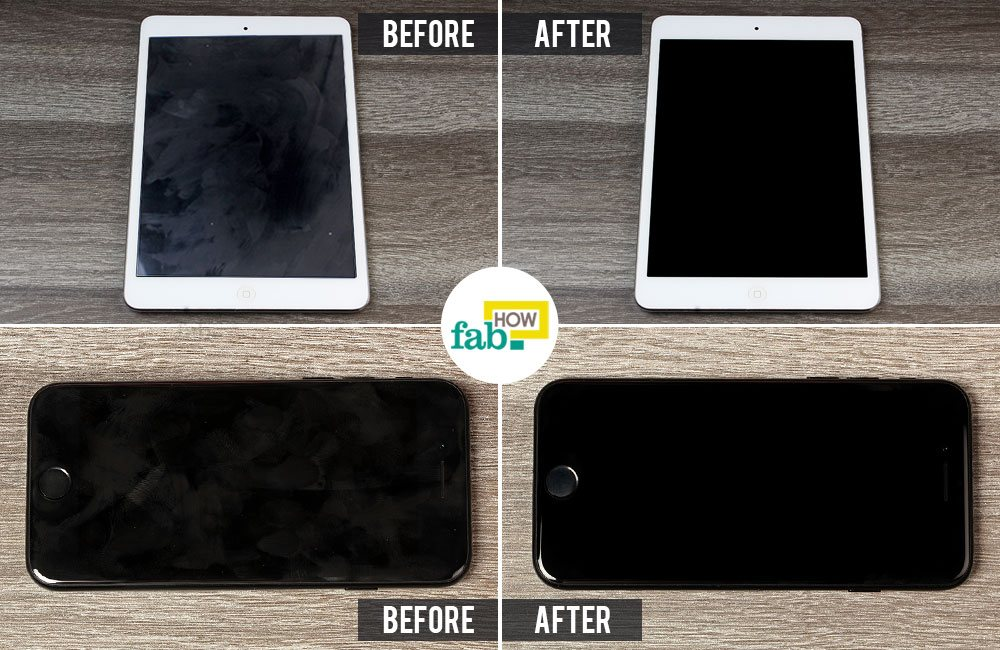 How To Clean Your Ipad And Iphone Screens Fab How
