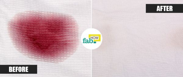 red wine stains on clothes