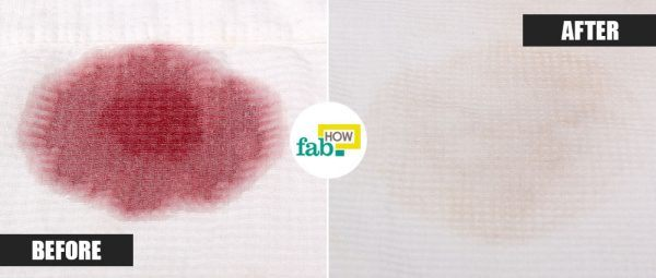 salt to remove red wine stain