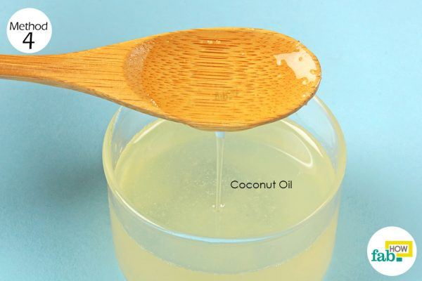 coconut oil to get rid of hangover