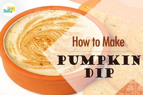 things need - creamy pumpkin dip
