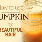 pumpkin for hair