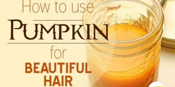 pumpkin for hair