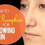 pumpkin for glowing skin