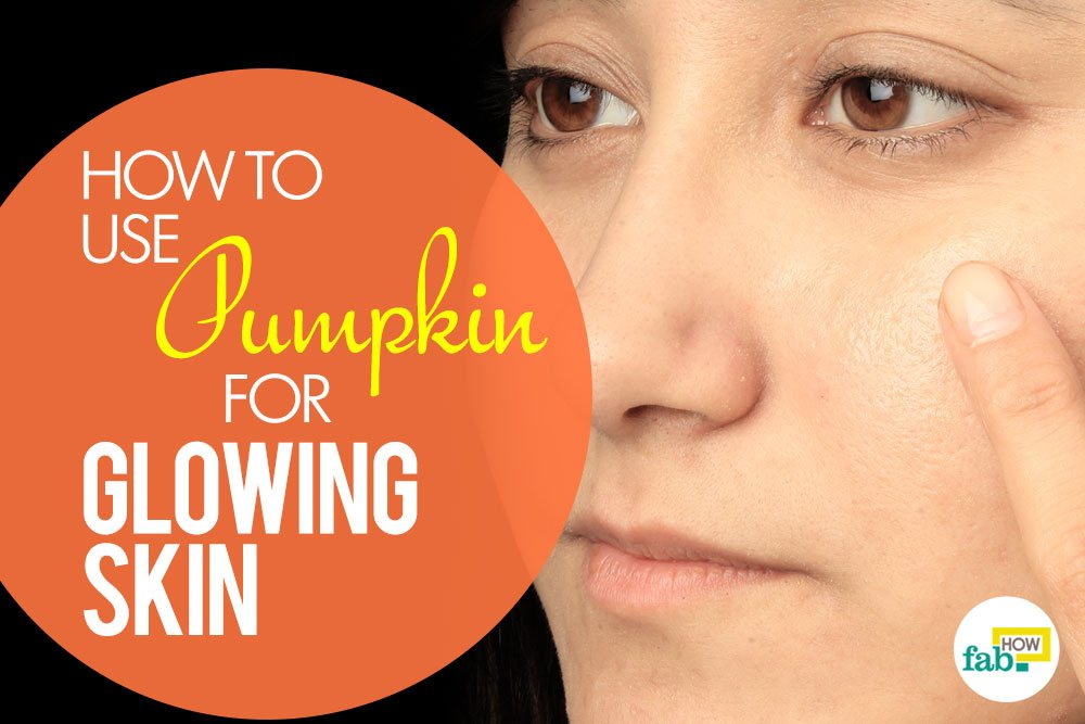 pumpkin for glowing skin