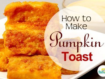 make pumpkin toast