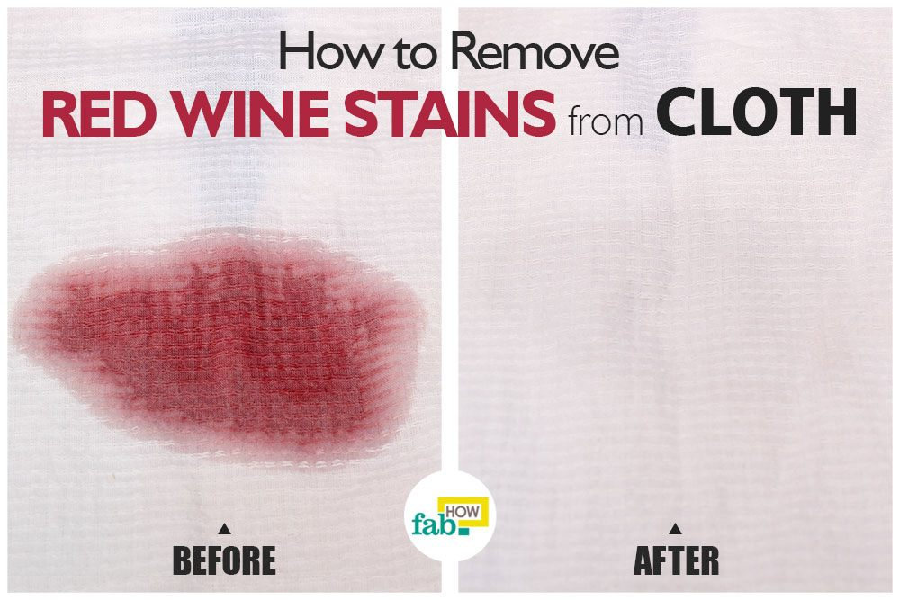 how to remove red wine stains from clothes we tested 7
