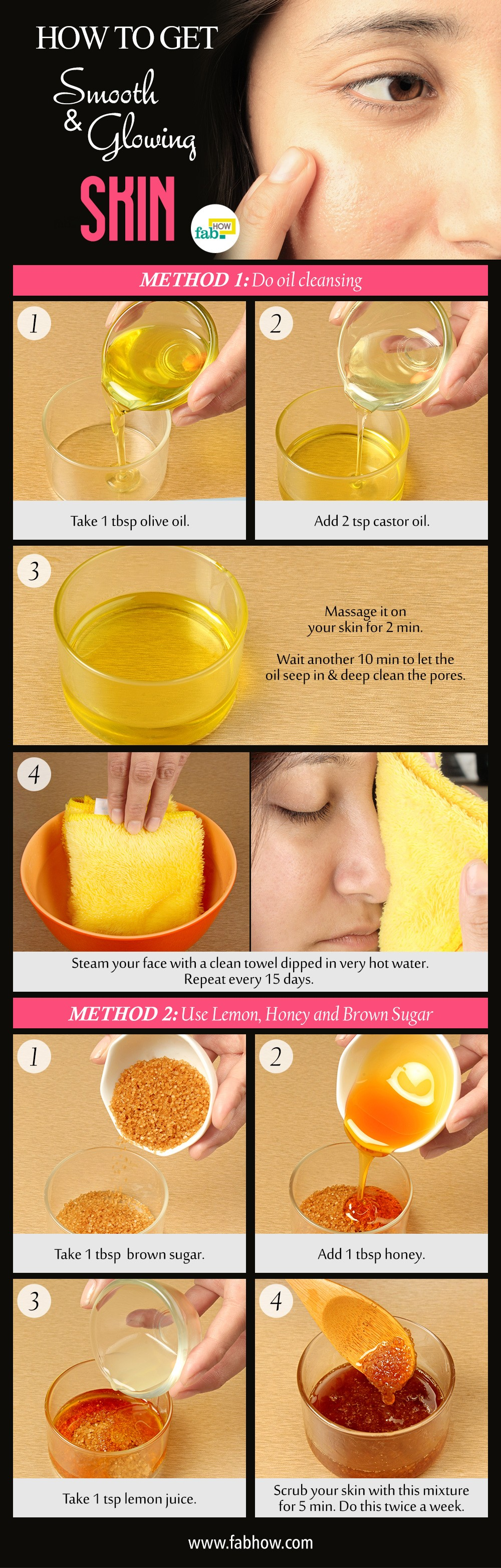 How to Get Smooth, Clear and Glowing Skin in 11 Minutes  Fab How