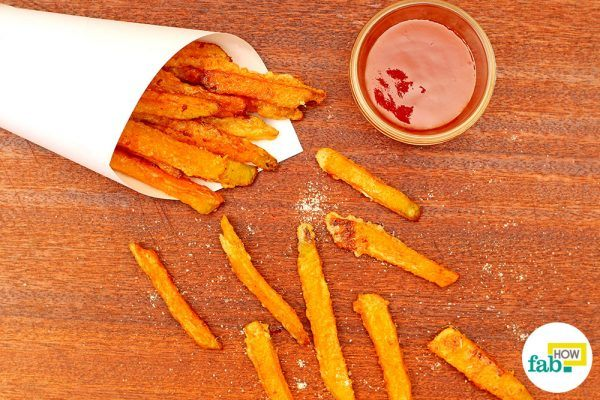 how to make pumpkin fries