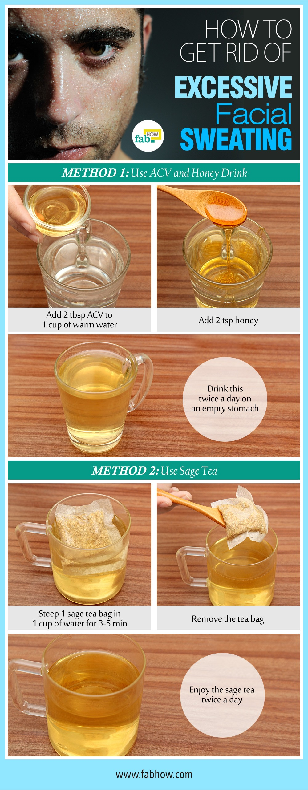 how to stop facial sweating with 2 natural remedies | fab how, Skeleton