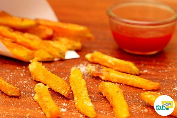 crispy pumpkin fries