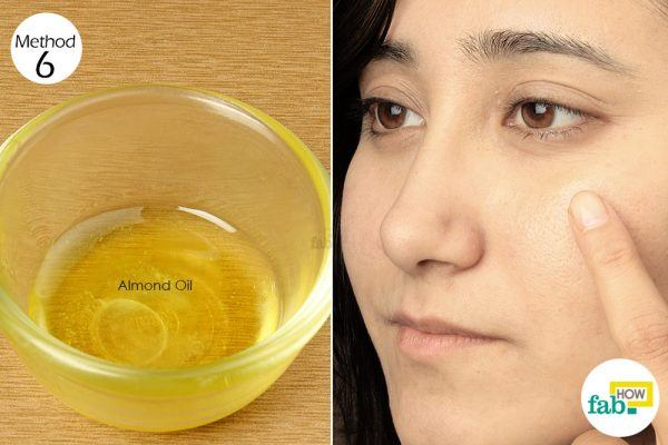 massage almond oil for smooth and glowing skin