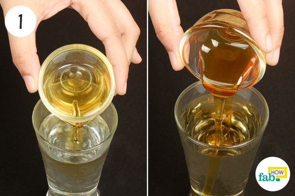 mix acv and honey to treat migraine