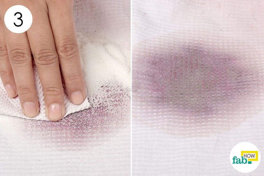 How to remove wine stains from carpet with salt carpet for Remove red wine from white shirt