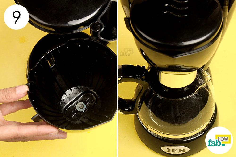 How to Clean a Coffee Maker (with step-by-step real photos) Fab How