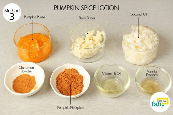 pumpkin spice lotion for glowing skin things need