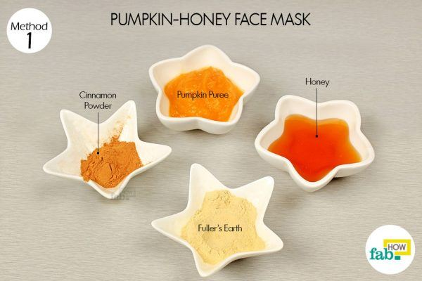 pumpkin honey mask for glowing skin