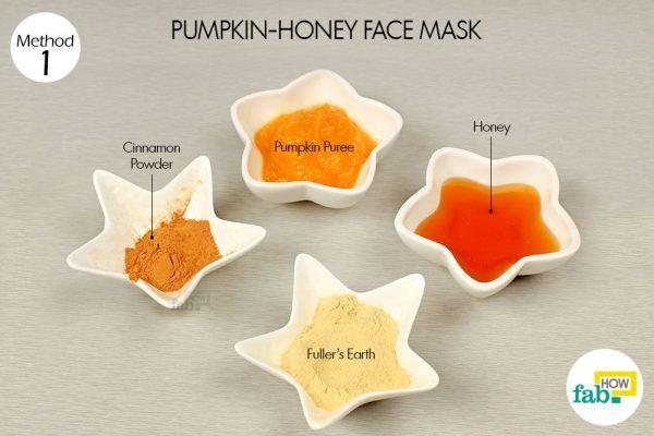 pumpkin honey mask for glowing skin
