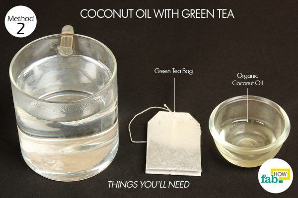 coconut oil and green tea things need