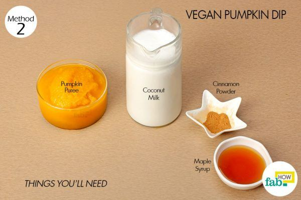 things need- vegan pumpkin dip
