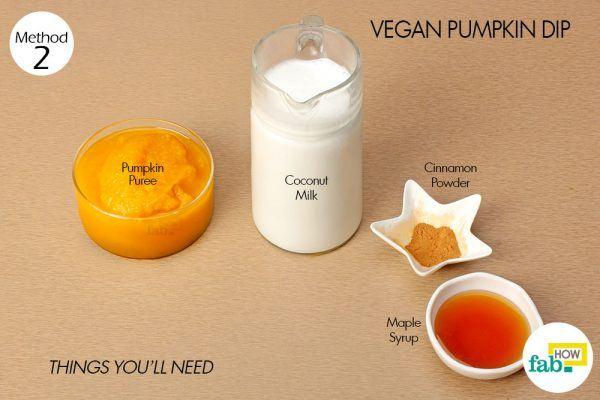 things need- vegan pumpkin dip