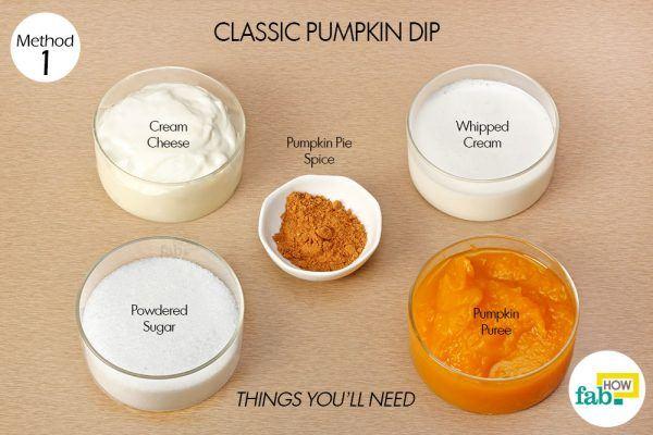 things need classic pumpkin dip
