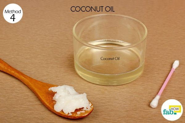 coconut oil for crow's feet things need