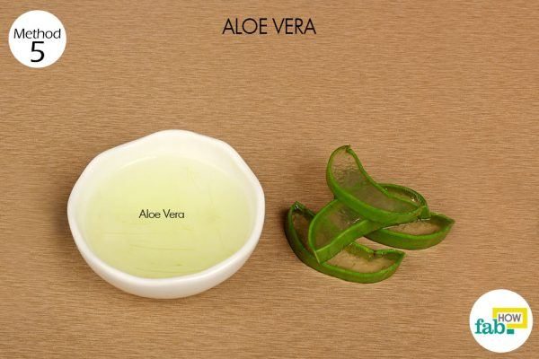 aloe vera gel to cure crow's feet things need